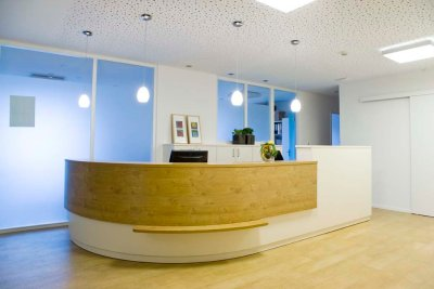 Hausarztpraxis am Humboldtplatz, Rheine, Begrüßung