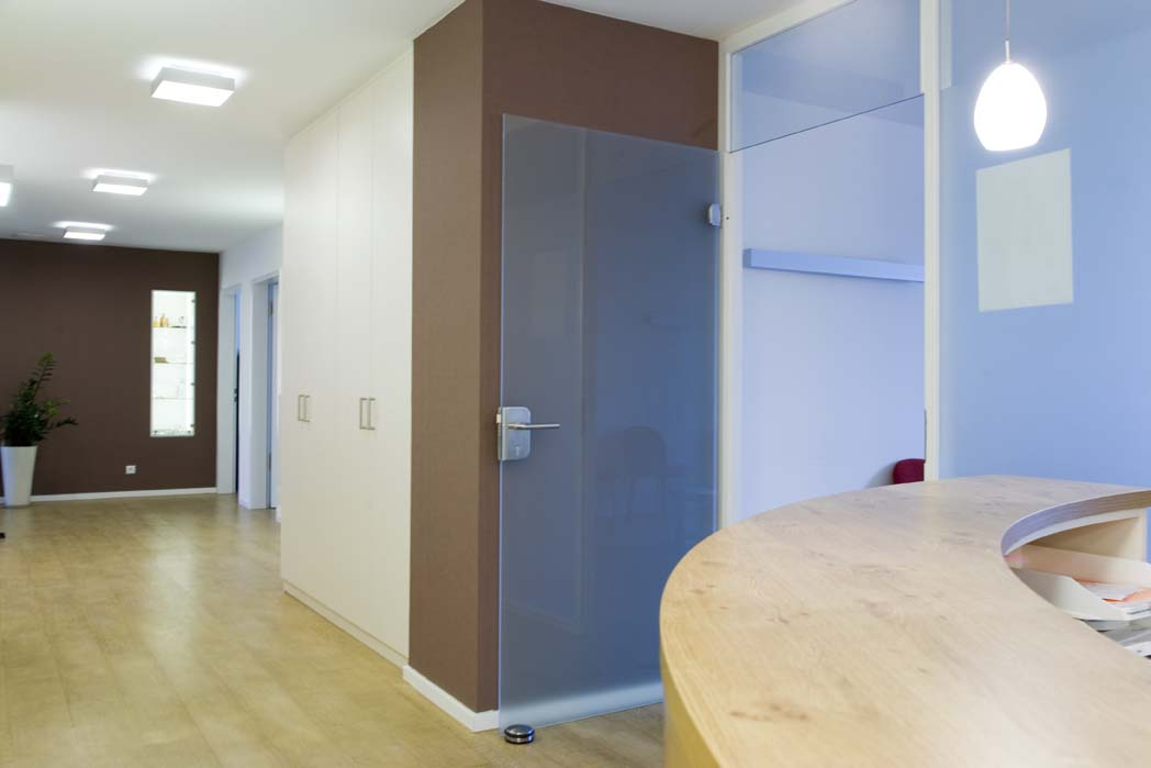 Hausarztpraxis am Humboldtplatz, Rheine, Eingangsbereich